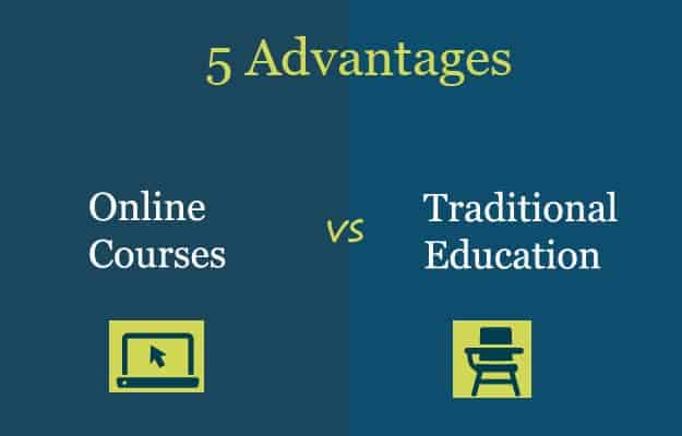 5 Advantages of Online Courses Compared to Traditional Education