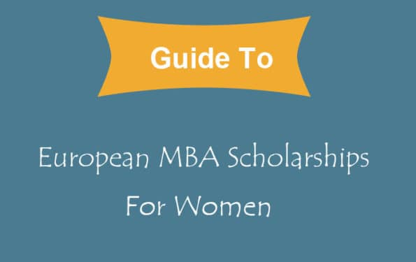 mba scholarships for women