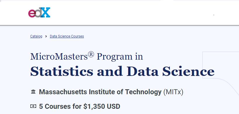 mit statistics and data science