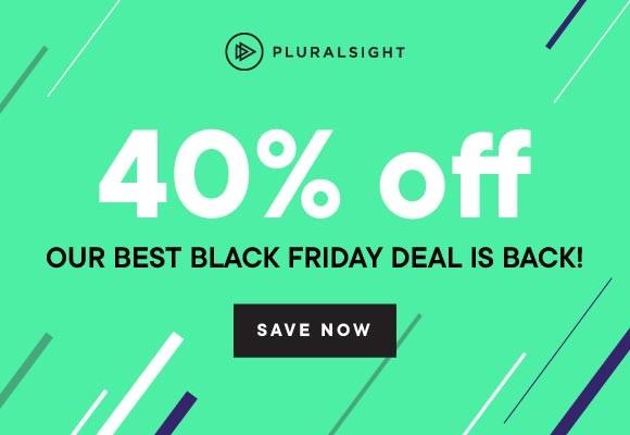pluralsight black friday