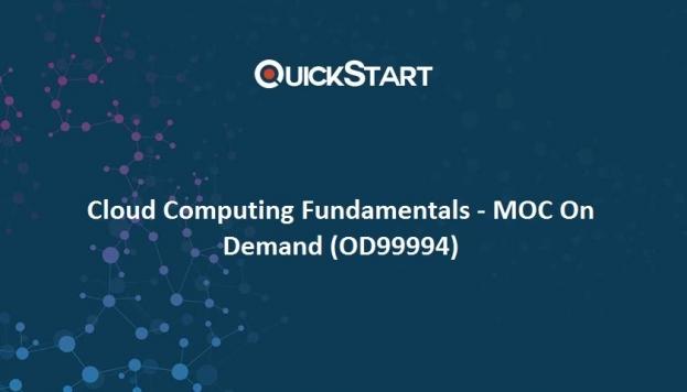 Cloud Computing Fundamentals - MOC On Demand (OD99994)