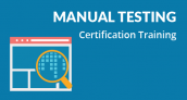 25% OFF – Manual Testing Certification Training