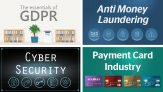 £80.00 – GDPR Essentials, Cyber Security, Anti Money Laundering and Payment Card Industry Bundle