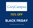 GreyCampus Black Friday – 70% OFF Non-Bootcamp Courses