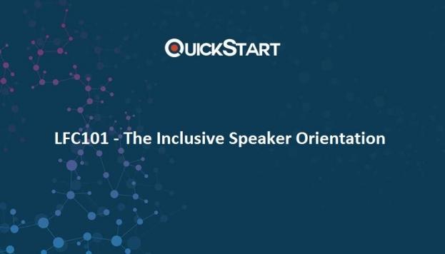 The Inclusive Speaker Orientation