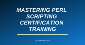 Mastering Perl Scripting Certification Training
