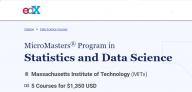 Save 10% on MIT's Statistics and Data Science Program